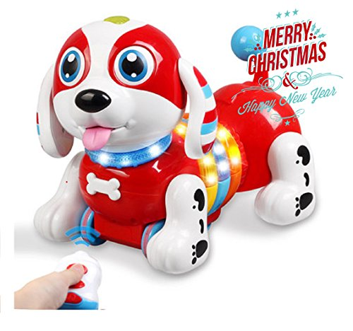 Low cost Yeezee Musical Interative Pet , Sing, Dance,Stroy Robotic Canine with Milk Bottle Distant Management  Opinions