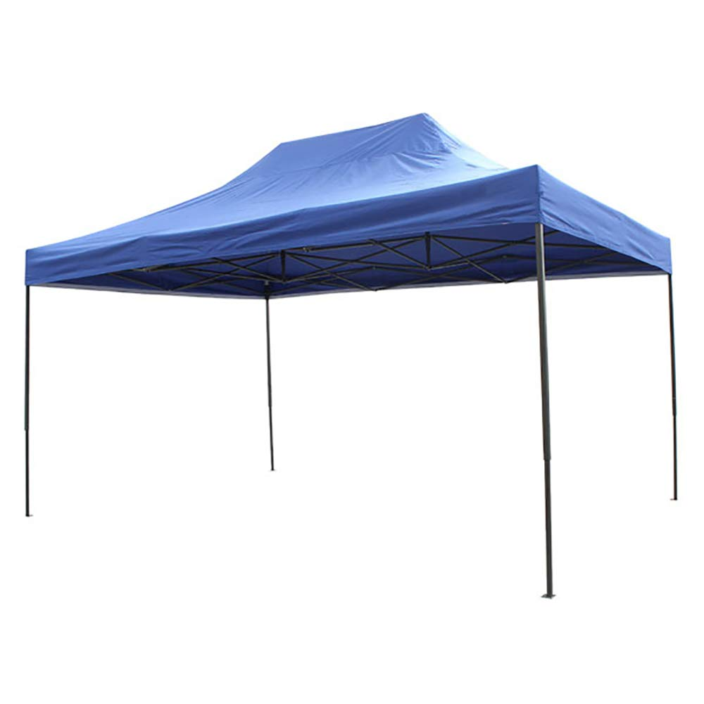 Airwave Four Seasons PREMIUM 3 x 4.5m Waterproof Heavy Duty Pop Up Gazebo (No Sides) - Perfect for BBQs, Parties, Weddings (Blue) Expressco Direct