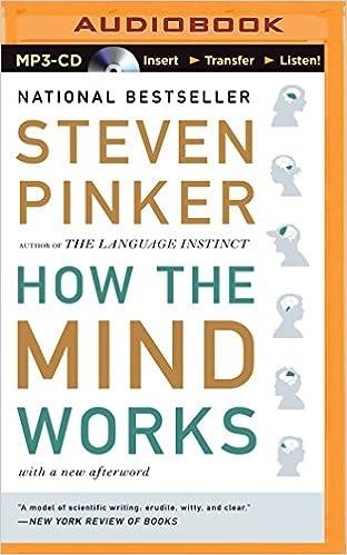 How The Mind Works Steven Pinker Pdf