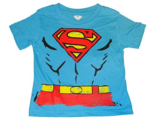TM & DC Comics Superman Boys Toddler T-Shirt 4T -