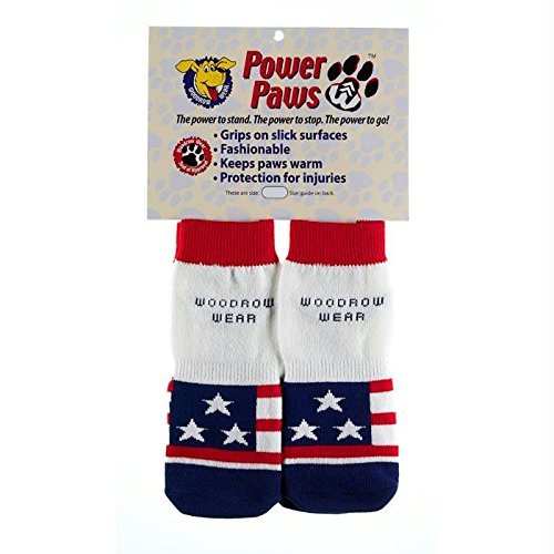 Woodrow Wear Power Paws Advanced Medium American Flag 2.0'' - 2.38'' X 2.0'' - 2.38'' by Woodrow Wear