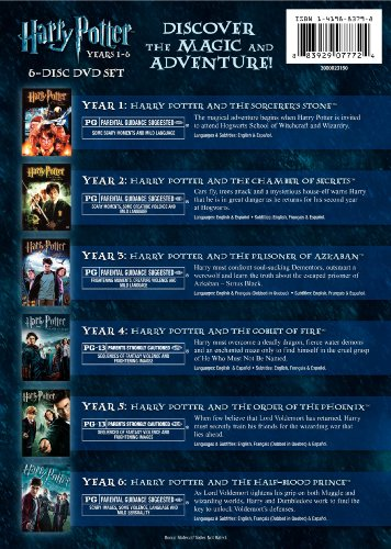 Harry Potter Years 1 6 Gift Set Full Screen Edition
