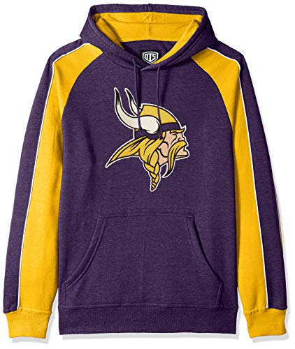 NFL Minnesota Vikings Male NFL OTS Merciless Hoodie, Purple, Medium