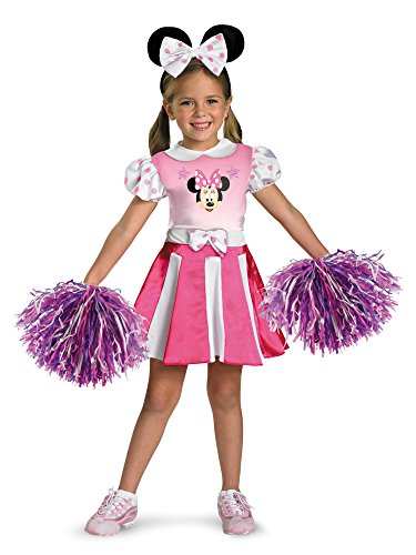 Disguise Disney Mickey Mouse Clubhouse Minnie Mouse Cheerleader Girls Costume