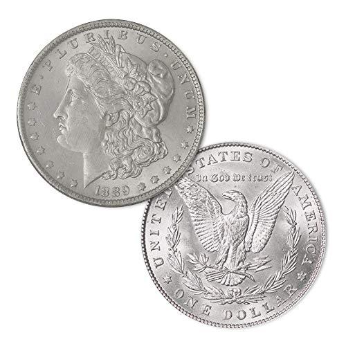 1889 P Morgan Silver Dollar $1 Brilliant Uncirculated