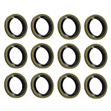 12x Bolt Seals Fuel Line Sealing Washer Fits for