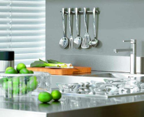 Brabantia s line juego de utensilios de cocina acero for Juego utensilios cocina