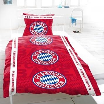 Fcb Fc Bayern München Bettwäsche Allover Amazonde Sport