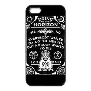 Danny Store 2015 New Arrival TPU Rubber Coated Phone Case Cover for iPhone 5 / 5S - Bring Me The Horizon