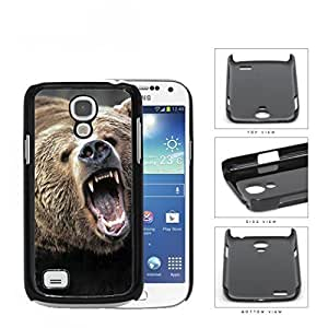 Angry Grizzly Bear Close-up Portrait Hard Plastic Snap On Cell Phone Case Samsung Galaxy S4 SIV Mini I9190
