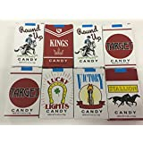 8 PACKS CANDY CIGARETTES