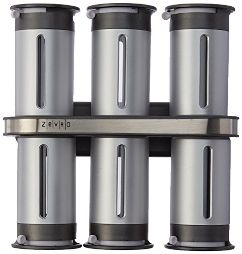 KCH 06099 Gravity Magnetic Canisters Silver