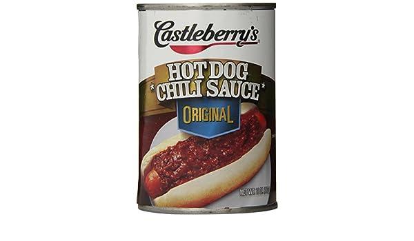 Castleberrys - Salsa de chile caliente, (paquete de 24): Amazon.es: Alimentación y bebidas