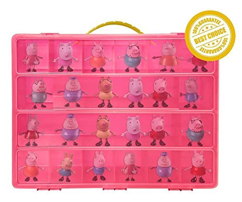 Peppa Pig TM Compatible Organizer - My Peppa Pig Pen Is The Perfect Peppa Pig TM Compatible Storage Box- Stores Up to 30...