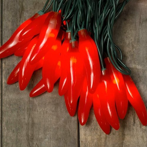 Outdoor Chili Pepper Lights 3