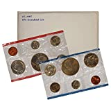 1976 Various Mint Marks P & D United States US Mint 12 coin Set With Bicentennial Commeratives Uncirculated