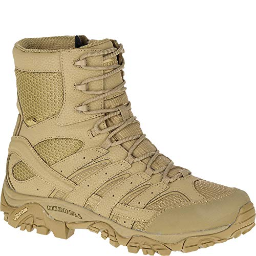 Merrell Moab 2 8' Tactical Waterproof Boot Wide Men 10 Coyote