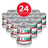 Hill's Science Diet Adult Perfect Weight Liver & Chicken Canned Cat Food for healthy weight management, 2.9 oz, 24 Pack