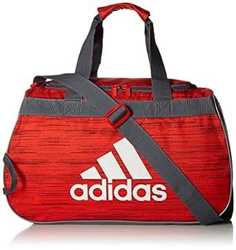 93c8b1c57 Amazon.com: adidas Diablo Duffel Bag, Active Red Looper/Onix/Grey ...