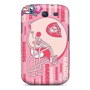 Hot Tpu Cover Case Galaxy/ S3 Case Cover Skin - Oakland Raiders