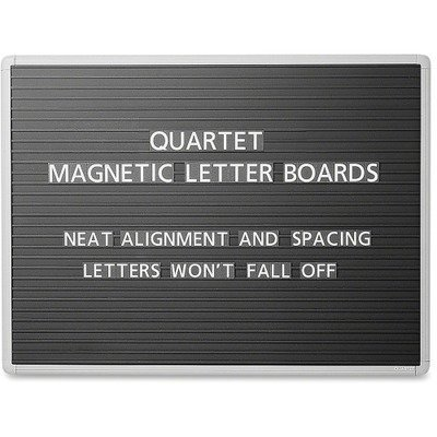 Premium Magnetic Wall Mounted Letter Board Size: 36x24 by Quartet