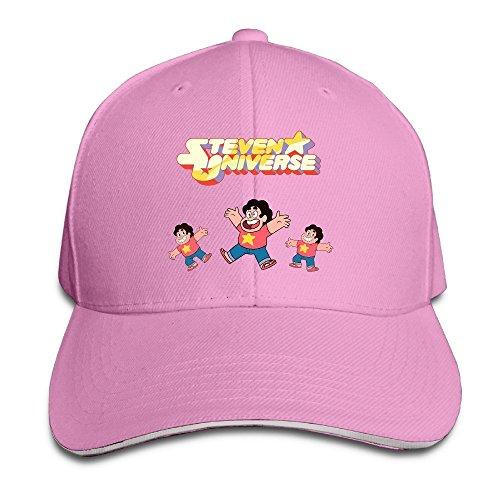 [MayDay Steven Universe Sunbonnet Sandwich Hat Pink] (Doctor Barbie Costume)