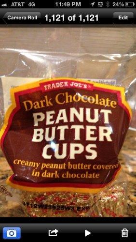 Chocolate Coated Peanut Butter - Trader Joe's Mini Dark Chocolate