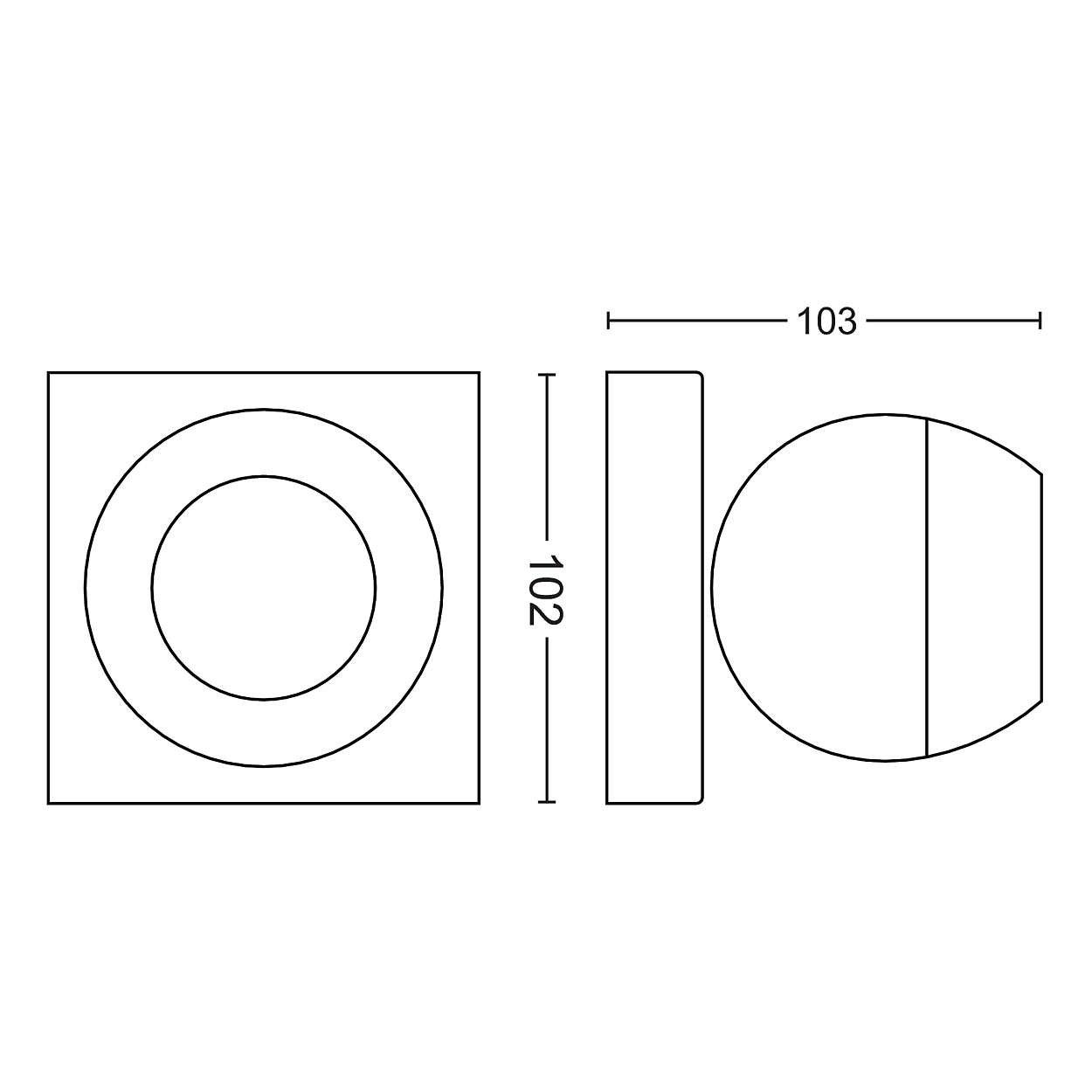 Philips Hue Weiß Ambiance Ambiance Ambiance Buckram Deckenleuchte 1-er Spot, inkl. Dimmschalter, weiß   LED-Wohnzimmerlampe mit Fernbedienung   Kompatibel mit AMAZON ECHO ALEXA und APPLE HOMEKIT   App-Steuerung fa7634