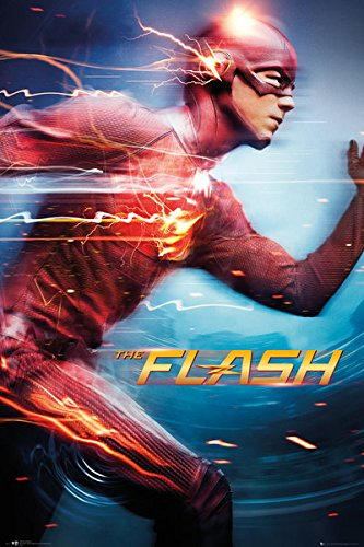 """The Flash - DC Comics TV Show Poster / Print (Speed) (Size: 24"""" x 36"""") (By POSTER STOP ONLINE)"""
