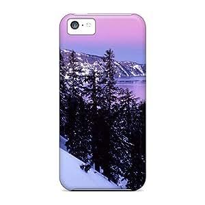IGoAKQI4827kTVxO Case Cover Night On Crater Lake Oregon Iphone 5c Protective Case