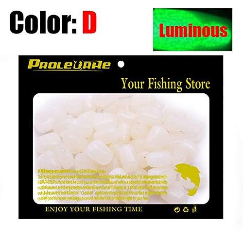 Pellets Colored Fish (Jammas 100pcs/lot Colored Pop Up Carp Fishing Boilies Flavoured Grass Carp Bait Floating Corn Soft Pellet Lure 0.4g/pcs PRO-331 - (Color: D Xin))