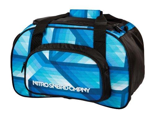 Nitro Sporttasche Duffle Bag XS, Schulsporttasche, Reisetasche, Weekender, Fitnesstasche, 40 x 23 x 23 cm, 35 L, 1131-878019_ Frequency Blue 40 x 23 x 23 cm Nitro Snowboards