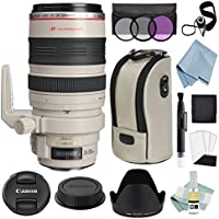 Canon EF 28-300mm f/3.5-5.6L IS USM Autofocus Lens + Canon EF 28-300mm Lens Advanced Accessory Kit - Canon Lens Bundle Includes EVERYTHING You Need to Get Started