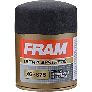 FRAM XG3675 Ultra Synthetic Spin-On Oil Filter with Sure Grip