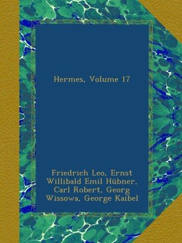 Hermes, Volume 17 pdf epub