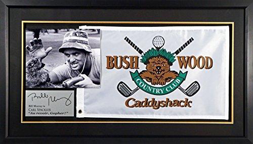 Caddyshack Flag Display Feat. Bill Murray (SGA Signature Series) Framed