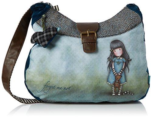 Santoro Gorjuss Slouchy Bag - Forget Me Not