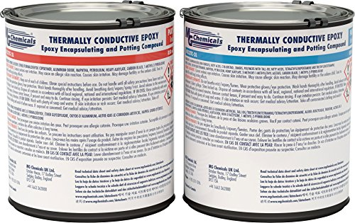 Encapsulating Compound (MG Chemicals Thermally Conductive Black Epoxy Encapsulating and Potting Compound)