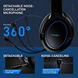 PeohZarr Wireless Gaming Headset, 2.4G PC
