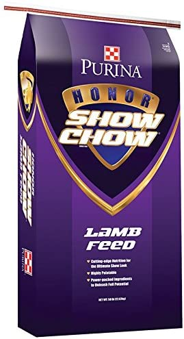 Purina Animal Nutrition Purina Honor Show Chow Flex Lamb B30 50lb Textured