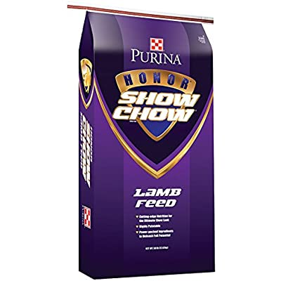 Purina Animal Nutrition Purina Honor Show Chow Flex Lamb B30 50lb Textured