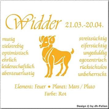 wall-refine WS-00767 | STERNZEICHEN WIDDER | Premium Wandtattoo ...
