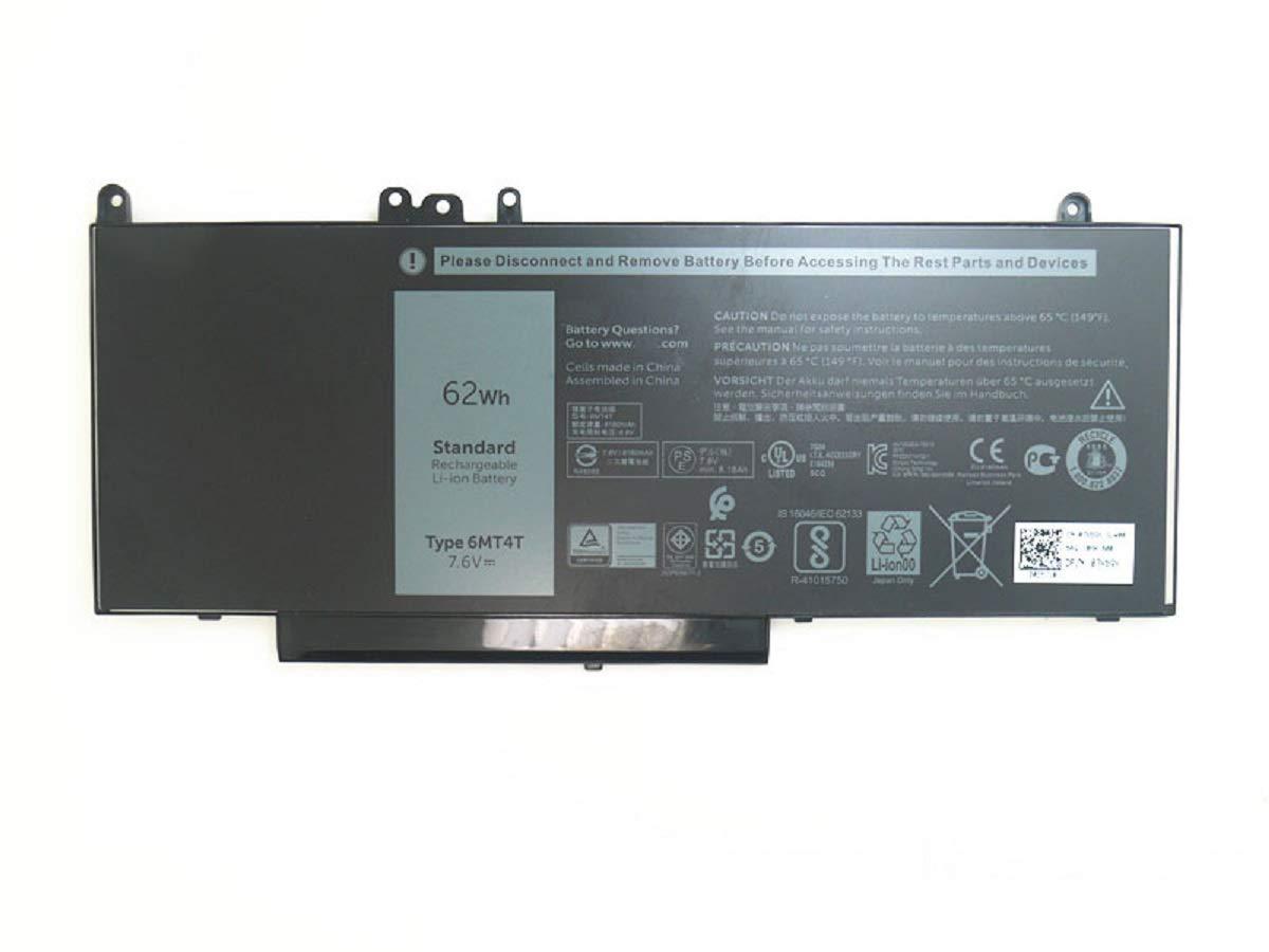 Bateria Dentsing 62Wh 6MT4T para Dell Latitude E5470 E5570 Precision 3510 0HK6DV 079VRK TXF9M 0TXF9M