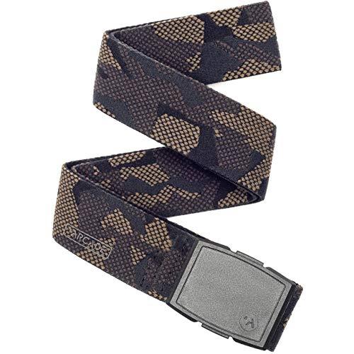 (Arcade Mens Elastic Stretch Web Belts: Reserve Collection, Adjustable NonMetal Capture Buckle, Phantom Camo Camo)