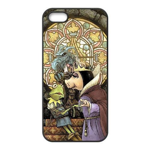 M7U55 Le 4 4s cellulaire cas de téléphone Muppets Miss Piggy R8G5RG coque iPhone couvercle coque noire WY1ZDD1CM