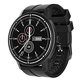 Fitness Watch, Waterproof Watch with Heart Rate Monitor, Pedometer for Walking, Calorie Counter Smart Watch for Android…
