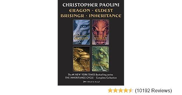The Inheritance Cycle Complete Collection Eragon Eldest Brisingr