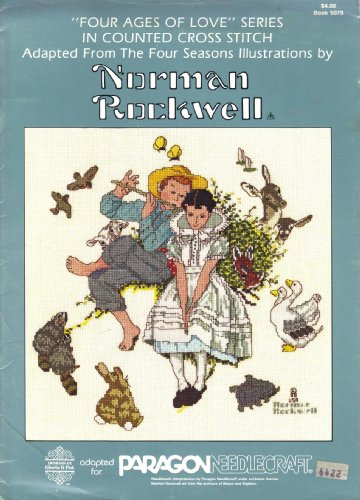 Norman Rockwell - Four Ages of Love Series in Counted Cross Stitch - Book ()
