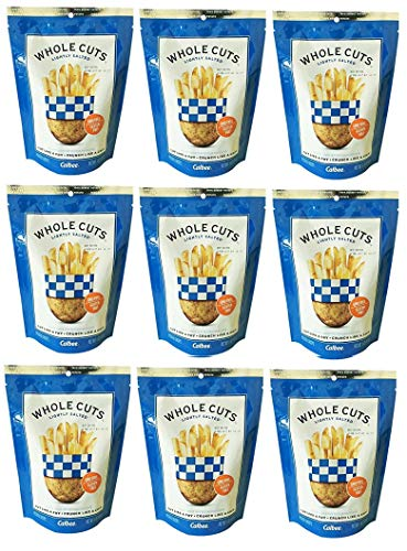 Calbee Whole Cuts Lightly Salted 4 oz(Pack of 9) ()