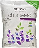 Nutiva Organic Chia Seeds, pack of 2